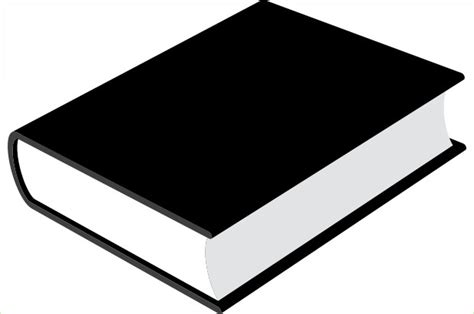 black picture book black book clipart clipart best