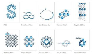 beading stitches sandeelee design learn different stitches