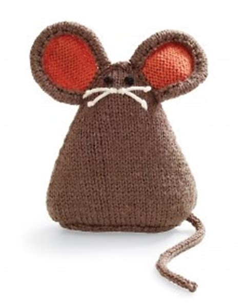 how to knit a mouse cat cat and mouse knit patterns 187 wee folk