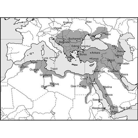 ottoman empire located ottoman empire turkish history and origins