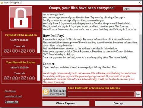 itu apa apa itu virus ransomware wannacry ngelag