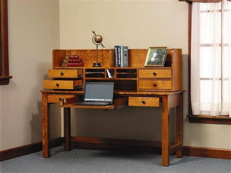 desk with storage rivertowne amish writing desk with storage hutch top