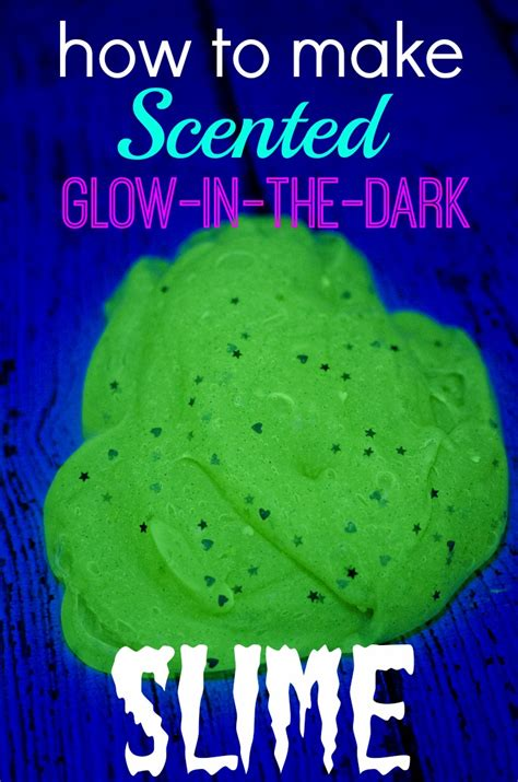 how to make scented how to make scented glow in the slime