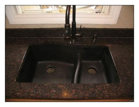 brown kitchen sink brown granite and rubbed bronze sink and faucet