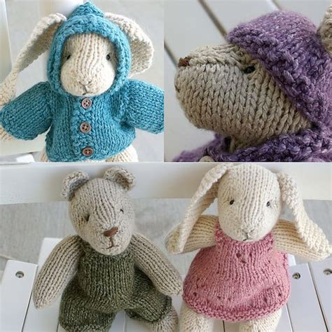 free knitting patterns of toys quot rabbit and quot knitting pattern free ravelry