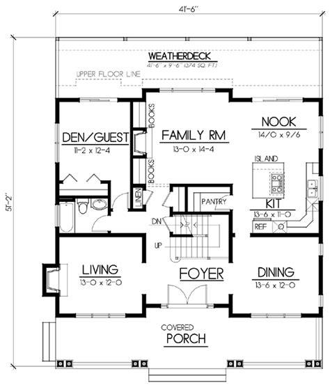 bungalow floor plans free house plan 91885 at familyhomeplans