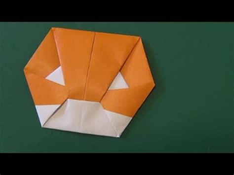 how to make origami gloves グローブ 使える折り紙 glove origami