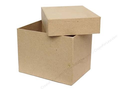 paper mache craft boxes paper mache rectangle box by craft pedlars 12 boxes