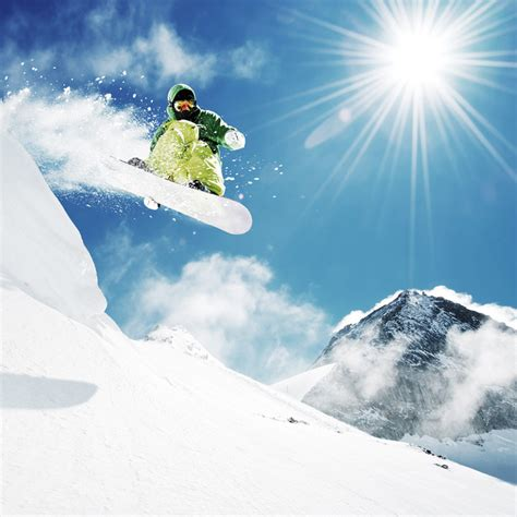 snowboard wall mural snowboarder at jump wall mural photo wallpaper photowall