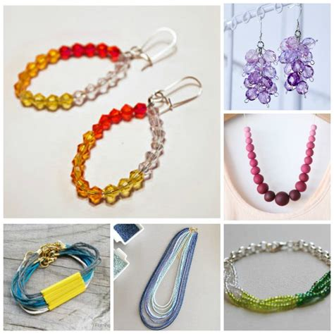 free jewelry classes 13 sensational ombre jewelry ideas tutorials