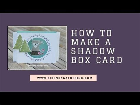 17 Best Images About Cards Shadow Box Cards Frames On