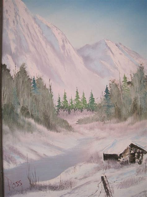 bob ross painting for sale authentic original bob ross painting painting by stacey rabe