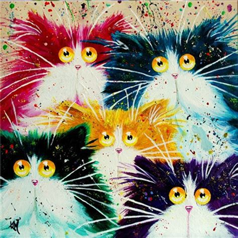 diy cat painting new arrival diy painting cross stitch kit colorful