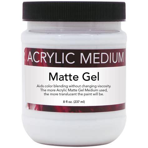 acrylic painting with gloss medium advantage 8 oz acrylic matte gel medium ebay