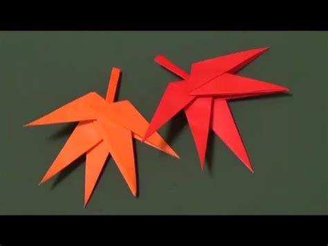 origami maple seed もみじ 折り紙 quot maple quot origami
