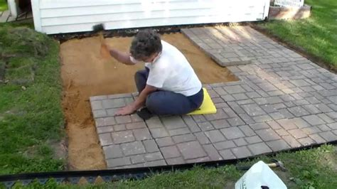 how to do paver patio building a paver patio and firepit