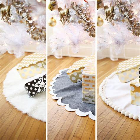 tree skirt pattern sew 3 easy no sew tree skirts a beautiful mess