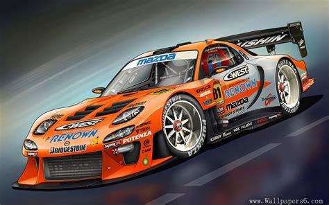 Race Car Wallpaper Free by Mazda Rx7 Motegi Race Car Auto Wallpapers Free