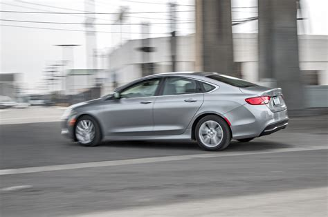 Chrysler 200 Price Range by 2015 Chrysler 200 Limited Rear Three Quarter In Motion