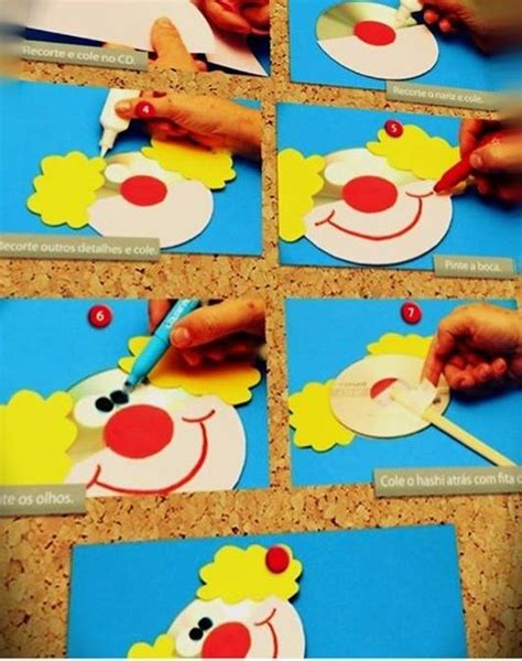clown crafts for the 25 best ideas about clown crafts on