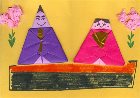 origami for teachers about japan a s resource origami hina doll