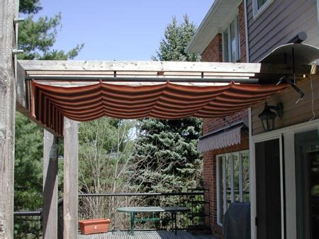 how to cover a pergola from retractable pergola cover 10
