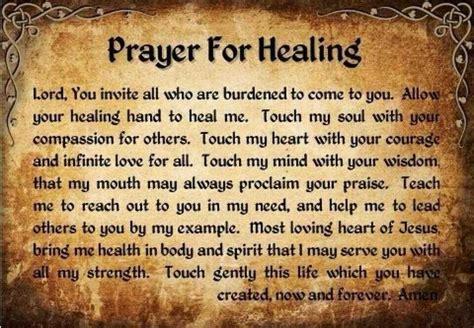 prayer christian prayer for healing catholic christian faith
