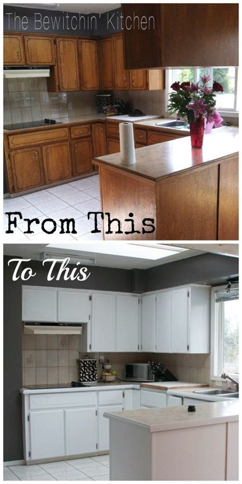1970s kitchen cabinets painting kitchen cabinets how i transformed my 1970 s oak