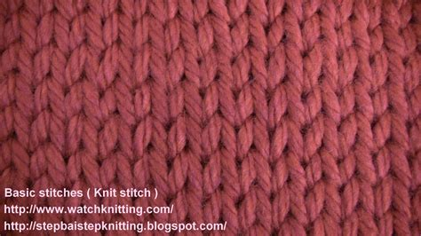 knitting and 6 best images of basic knitting stitches basic knitting