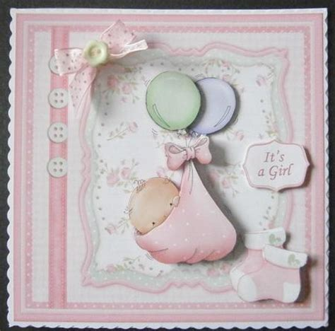 baby decoupage baby balloons card topper decoupage cup578444 68