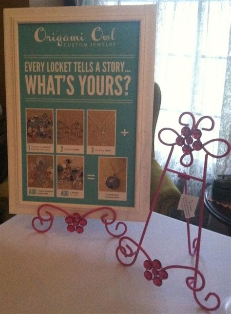 origami owl jewelry display 10 best origami owl jewelry bar display images on