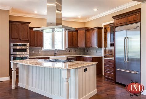 kitchen center island designs new center island kitchen design in castle rock jm
