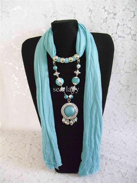 how to make jewelry scarves 25 best ideas about scarf jewelry on scarf