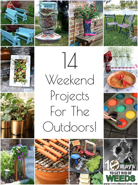 diy projects weekend so creative 14 diy outdoor weekend projects