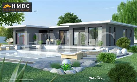 Enza Familliale 239m 178 Plan Maison De 239m2 Bbc Enza Maison Contemporaine Toit Plat Tarif