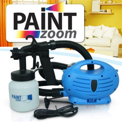 spray painter on tv paint zoom paint sprayer painting machine as seen on