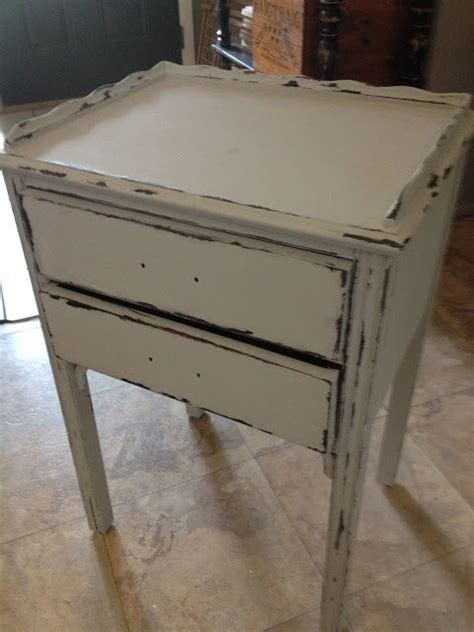 diy chalk paint chipping diy distressing with vaseline technique craft