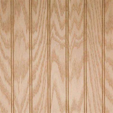 beaded paneling beaded wainscot wood paneling unfinished genuine oak