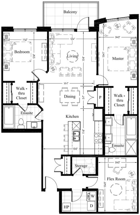 edmonton luxury condos 1 393 sq ft 2 bedroom floor plan