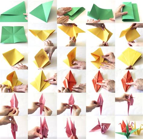 the crane origami paper crane tutorial to help your children those in
