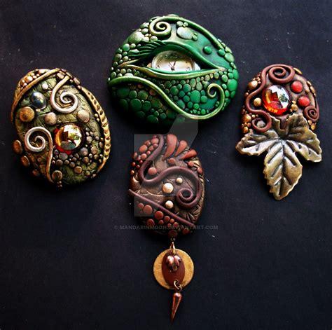 clay for jewelry polymer clay jewelry 2 by mandarinmoon on deviantart