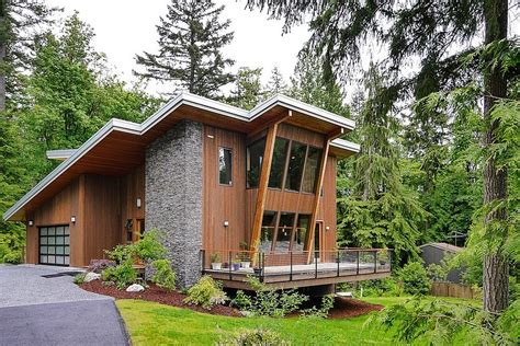 green architecture house plans impressive modern cottage at the base of squak mountain