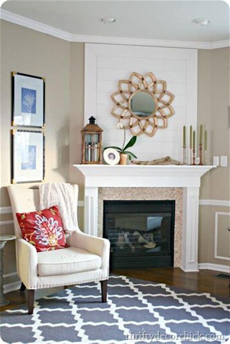 fireplace wall decor thrifty decor wood plank wall fireplace starburst