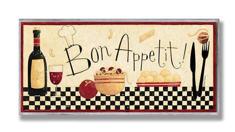 bon appetit kitchen collection the stupell home decor collection bon appetit kitchen wall plaque ebay