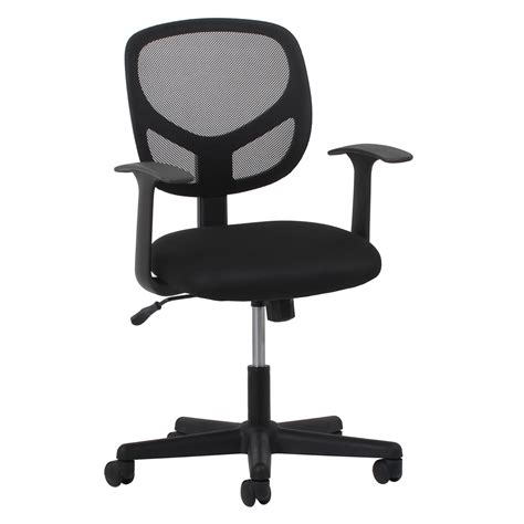 swivel chairs with arms swivel mesh task chair with arms black
