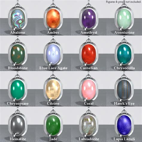 semi precious gemstone semi precious gemstones 3d figure assets minyassa