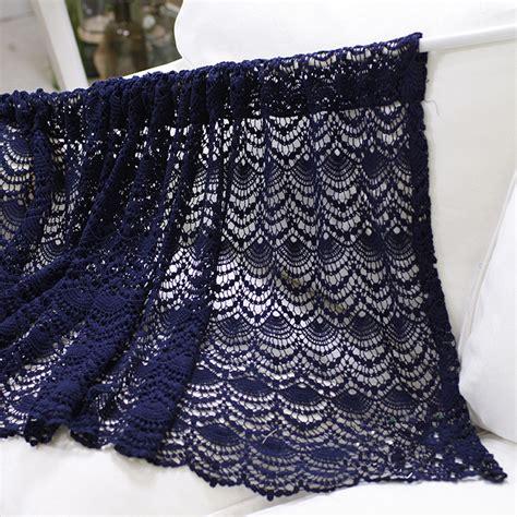 crochet kitchen curtains crochet kitchen curtains aliexpress com経由 中国 crochet