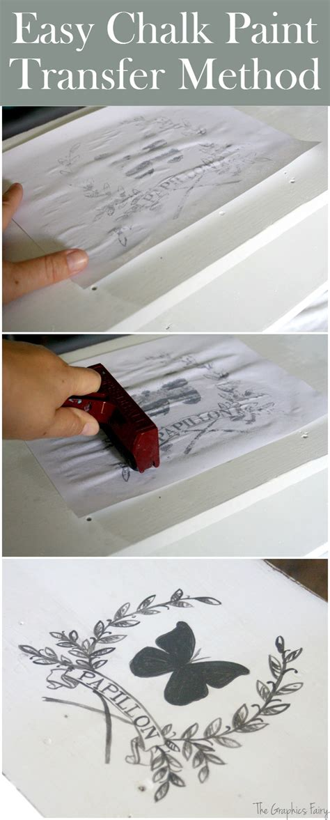 chalk paint easy furniture transfers for chalk paint the graphics