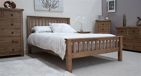 oak bedroom furniture tilson solid rustic oak bedroom furniture 4 6 bed