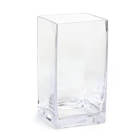 square glass large square glass vase